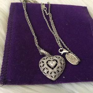 Neil Lane Diamond Heart Necklace!
